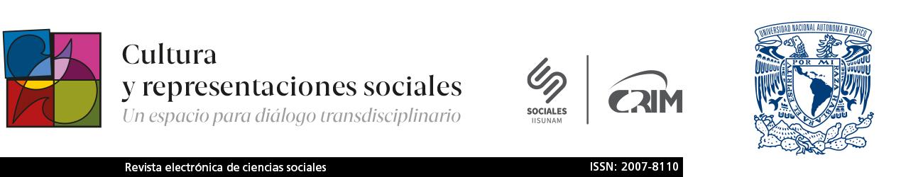 Cultura y representaciones sociales, revita electrónica de ciencias sociales